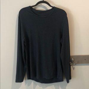 Lululemon 5 Year Basic Long Sleeve tee (navy blue)
